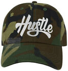 Hustle Embroidery Dad Hat Baseball Cap Adjustable embroidered NEW