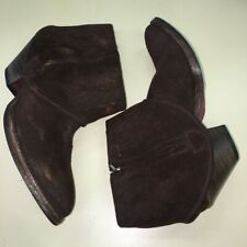 HTC Hollywood Trading Co - Suede foldover boots 40