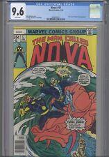 Man Called Nova #23 CGC 9.6 1978 Marvel Nick Fury, Yellow Claw App: NEW Frame