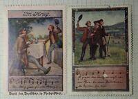 German Song Music Krug WW Political & Patriotic Poster Stamp