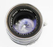 Nikkor 5cm f2 Leica SM  #626580