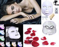 LED MASK 7 COLORI LUCE FOTONI LED MASCHERA FACCIALE HOT Beauty Terapia anti age