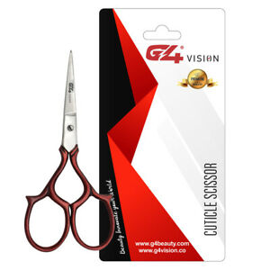 G4 Finger Toe Nail Cuticle ScissorsManicure Pedicure Stainless Steel Moustache