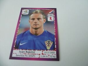 Panini Euro 2012 Ivan Rakitic Rookie Sticker #388 Purple Edition Mint