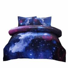 Ntbed Galaxy Comforter Set Full Size with 2 Matching Pillow Shams, Sky Oil