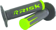 Fusion 2.0 Motorcycle Grips Green Risk Racing 00286