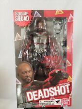 S.H. Figuarts Suicide Squad Deadshot Action Figure New