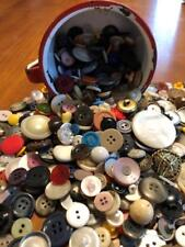 Nice Mixed Lot 300 Vintage Buttons Sewing Craf 00004000 ts Display Scrapbooking