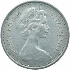 1968 LARGE 5P COIN ELIZABETH II.  #WT17208