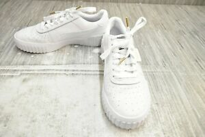 PUMA Cali 369155-01 Comfort Sneakers - Women's Size 11, White