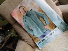 Outdoor Jacke Regenjacke Gr 128 Kinder Anorack mit Kapuze Neu