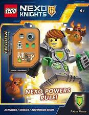 Nexo Powers Rule! [With Mini Figure] by West, Tracey