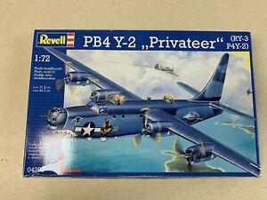 """Revell PB4 Y-2 """"Pravateer RY-3 1/72 Model Kit PN - 04292"""