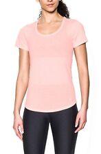 Under Armour Damen Lauf - Fitness T-Shirt UA Streaker rosa