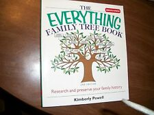 TheEverything Family Tree Book by Kimberly Powell
