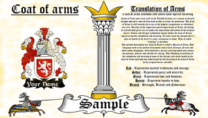 Grage-Griege COAT OF ARMS HERALDRY BLAZONRY PRINT