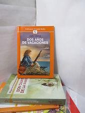 DOS ANOS DE VACACIONES Graded Spanish Literature Libros en Espanol