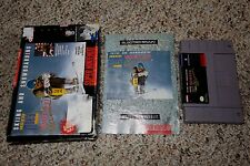 Tommy Moe's Winter Extreme: Skiing & Snowboarding Super Nintendo SNES Complete H