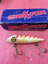 FT3 Vintage Maygard SparX-Plug Fishing Lure Daylight Fluorescent Original Box