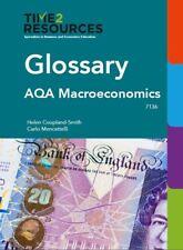 AQA GCE Economics Glossary book for Macreconomics