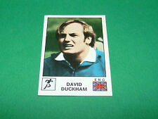 N°171 DAVID DUCKHAM RUGBY XV ENGLAND ANGLETERRE PANINI SPORT VEDETTES 1974 74