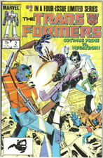 The Transformers Comic Book #2 Marvel Comics 1984 VERY FINE-