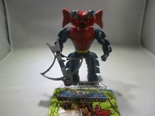"""""""Vintage"""" Masters of the Universe MANTENNA+Weapon+Comic Book 1984 Complete!"""