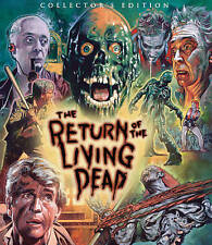 New THE RETURN OF THE LIVING DEAD Blu-ray Collector's Edition Sealed