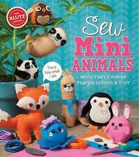 Sew Mini Animals by Editors of Klutz (Mixed media product, 2017)