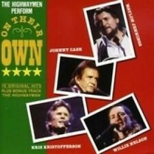 THE HIGHWAYMEN Perform On Their Own CD NEW Johnny Cash Willie Nelson