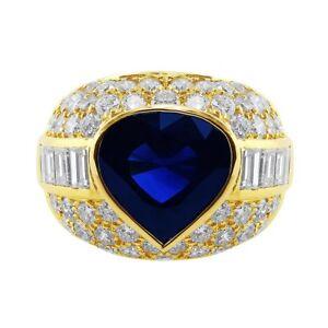 10ct Sapphire Bulgari Ring