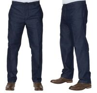 MENS CARABOU RUGBY TROUSERS PANTS FOR WALKING SMART FORMAL ELASTICATED 32 TO 60