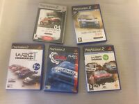 Colin Mcrae WRC Rally Racing 5 Game Bundle For PlayStation 2 PS2 PAL Complete