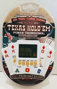 Las Vegas Casino Corner - Texas Hold'Em Poker Showdown Electronic HandHeld Game