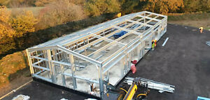 Steel buildings Car ports Steel Garages Storage Units Portal Frame Buildings