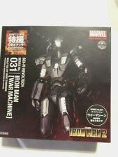 SCI-FI Revoltech 031 Iron Man 2 War-Machine KAIYODO USED From Japan FedEx