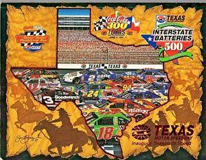Texas Motor Speedway Program - 1997 Inaugural Interstate Batteries 500
