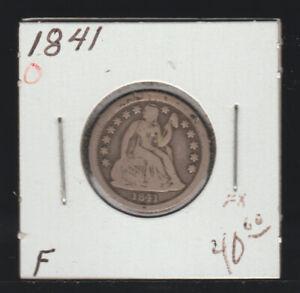 1841-O Liberty Seated Dime, Fine