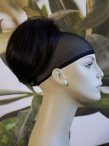 """BLACK/DARK BROWN """" BEEHIVE """" BUN HAIR PIECE UPDO  EXTENSION #2 UK SELLER"""