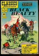 Classics Illustrated #60, Black Beauty, Hrn 85!