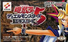 Yu-Gi-Oh 5 EX1 GameBoy Advance GBA Japan w/RARE CARDS!!