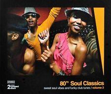 80's Soul Classics Vol. 2   New 2-cd    Remastered  PTG