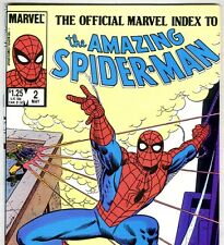 The OFFICIAL MARVEL INDEX to The Amazing Spider-Man #2 May 1985 in NM- condition