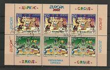 CEPT 2002/Bosnia-Erzegovina-Serb MiNr 241/42 D ** heftchenblatt/ersttagstpl