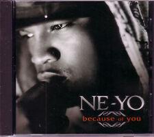 NE YO Because of you INSTRUMENTAL PROMO RADIO DJ CD single Ne-yo neyo