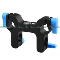 FOTGA DP3000 Mount Bracket Rail Block Rod Clamp for 15mm Rod DSLR Rig System FF