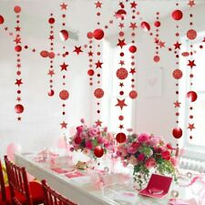 Merry Christmas Decorations for Home 4M Twinkle Star Paper Garland New Year 2021