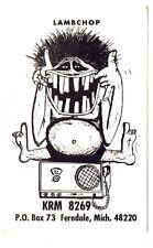 Lambchop Old Monster Postcard QSL Card Amateur CB Radio Ferndale Michigan Teeth