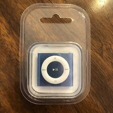 Brand New Apple iPod Shuffle 4th Gen 2GB Blue FACTORY SEALED MC754LL/A