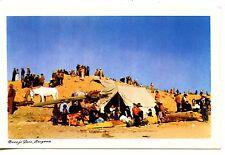 Arizona Navajo Indian Annual Fair-Rodeo-Tent-Window Rock-Vintage Postcard